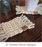 Meg's Mug Rug - Half Double Crochet Pattern