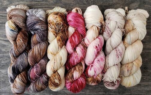Tanya of cornbreadandhoney's beautiful colorways