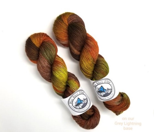 Holly's beautiful colorway