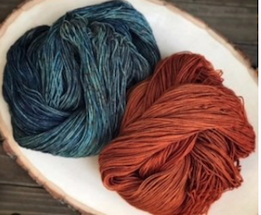 Yarn dyeing with Lotus and Laine