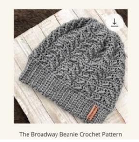 Broadway Beanie Crochet Pattern