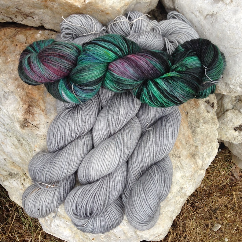 Yarn Dyeing with Fireweed Fibres