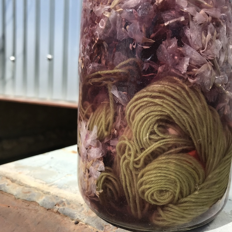 Yarn Dyeing with Natural Dye