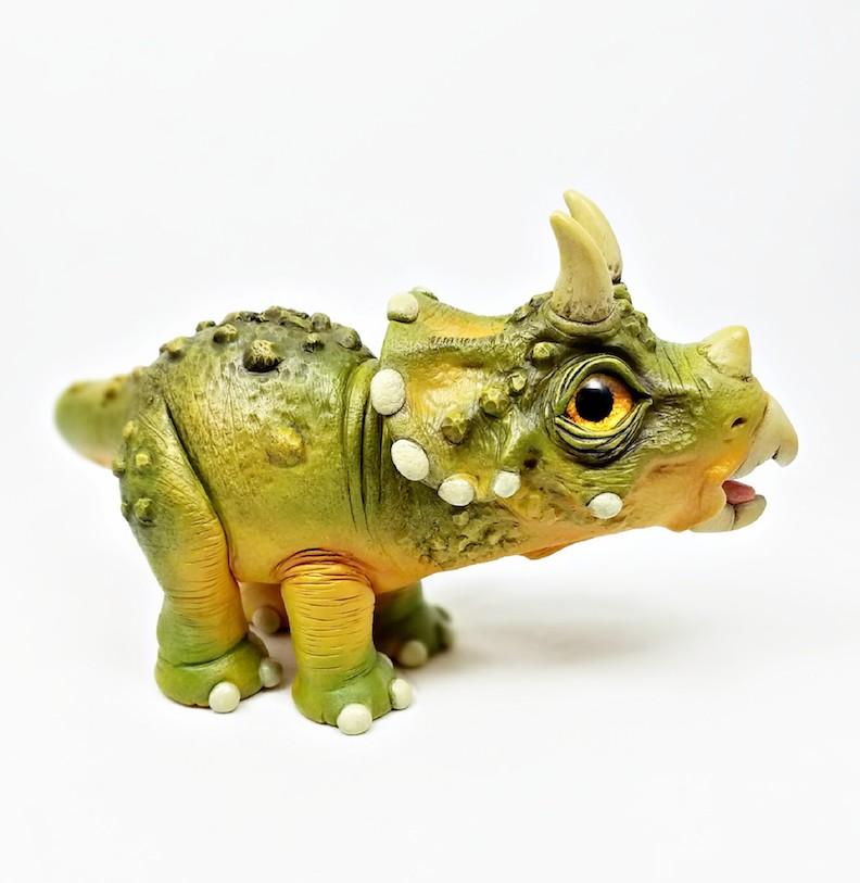 Clay Dinosaur Sculpture by ClayWorksbyJen