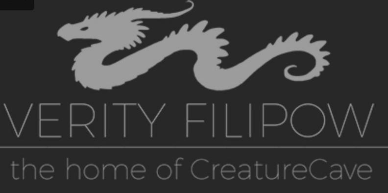 Creature Cave Clay Dragon Sculpture