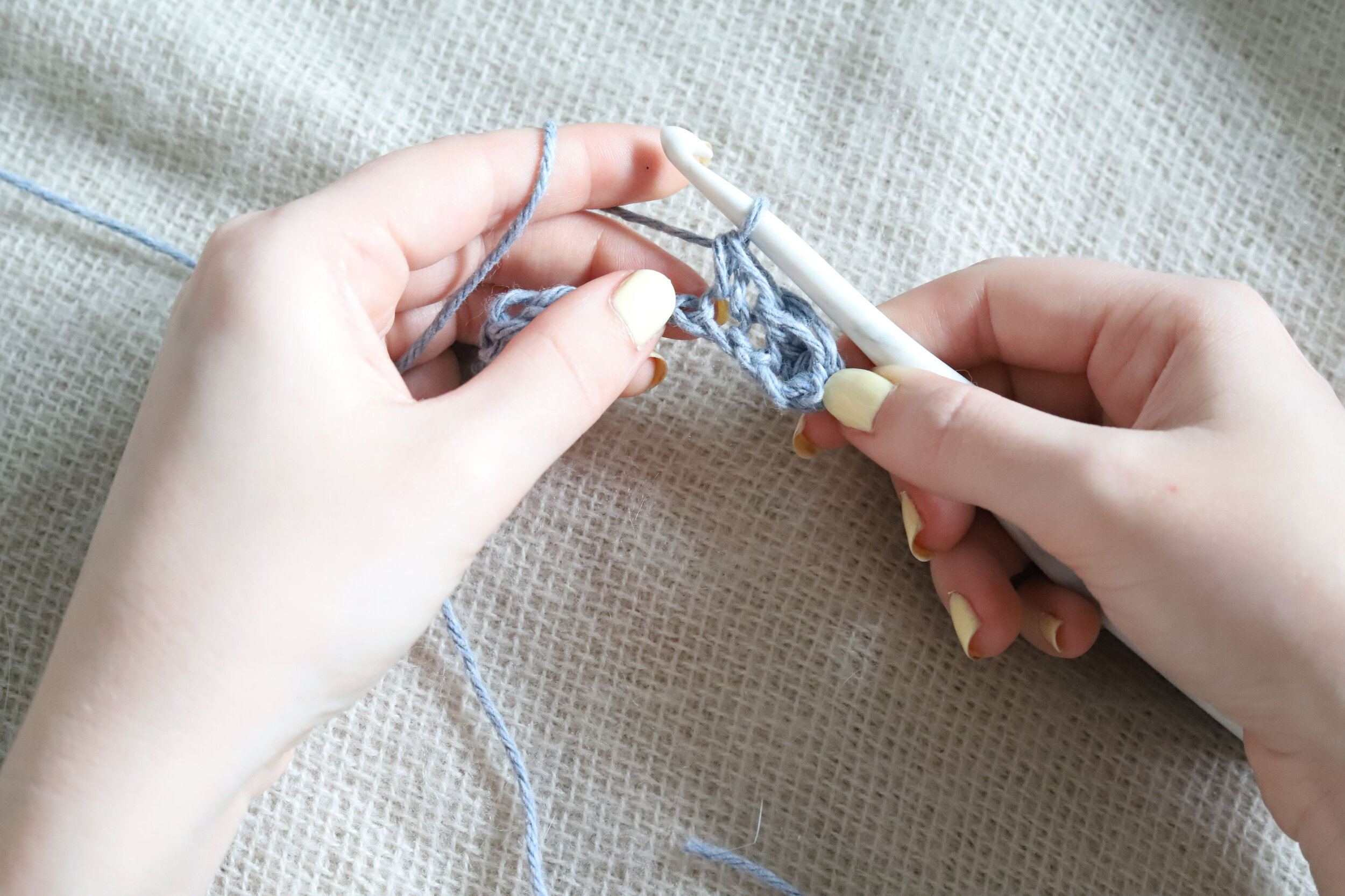 Suzette Stitch Crochet Tutorial Step 2d