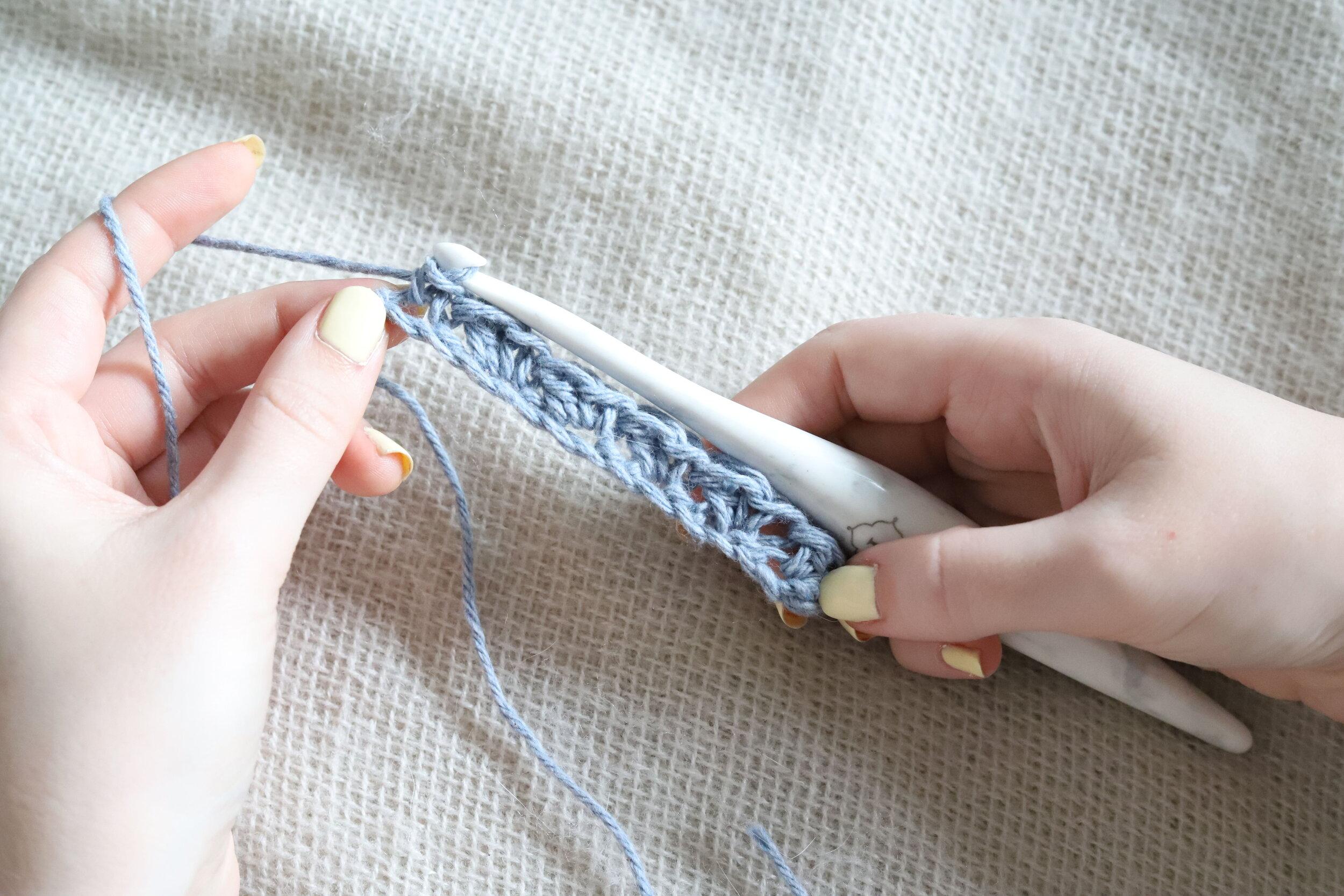 Suzette Stitch Crochet Tutorial Step 2g