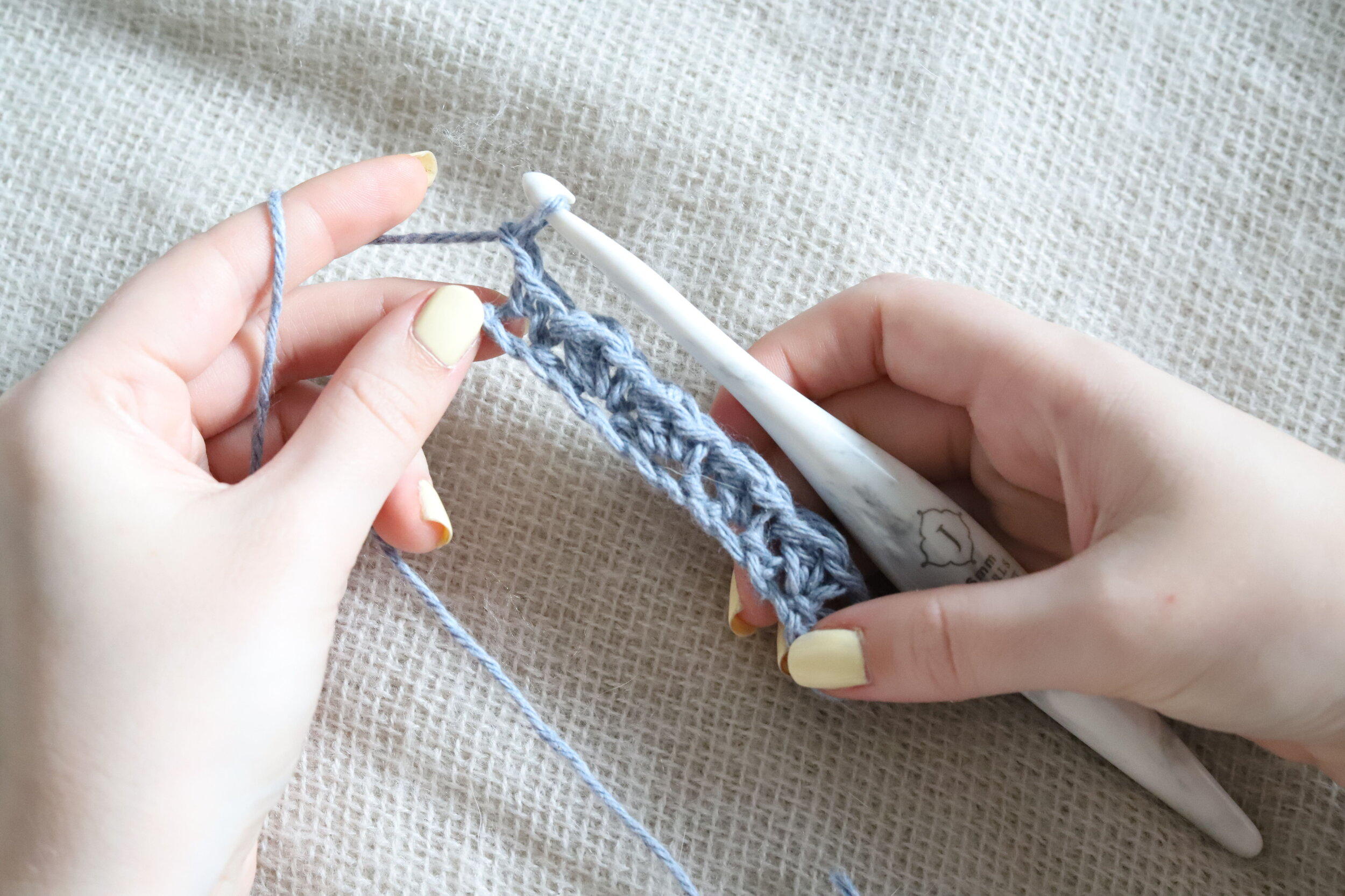 Suzette Stitch Crochet Tutorial Step 2h