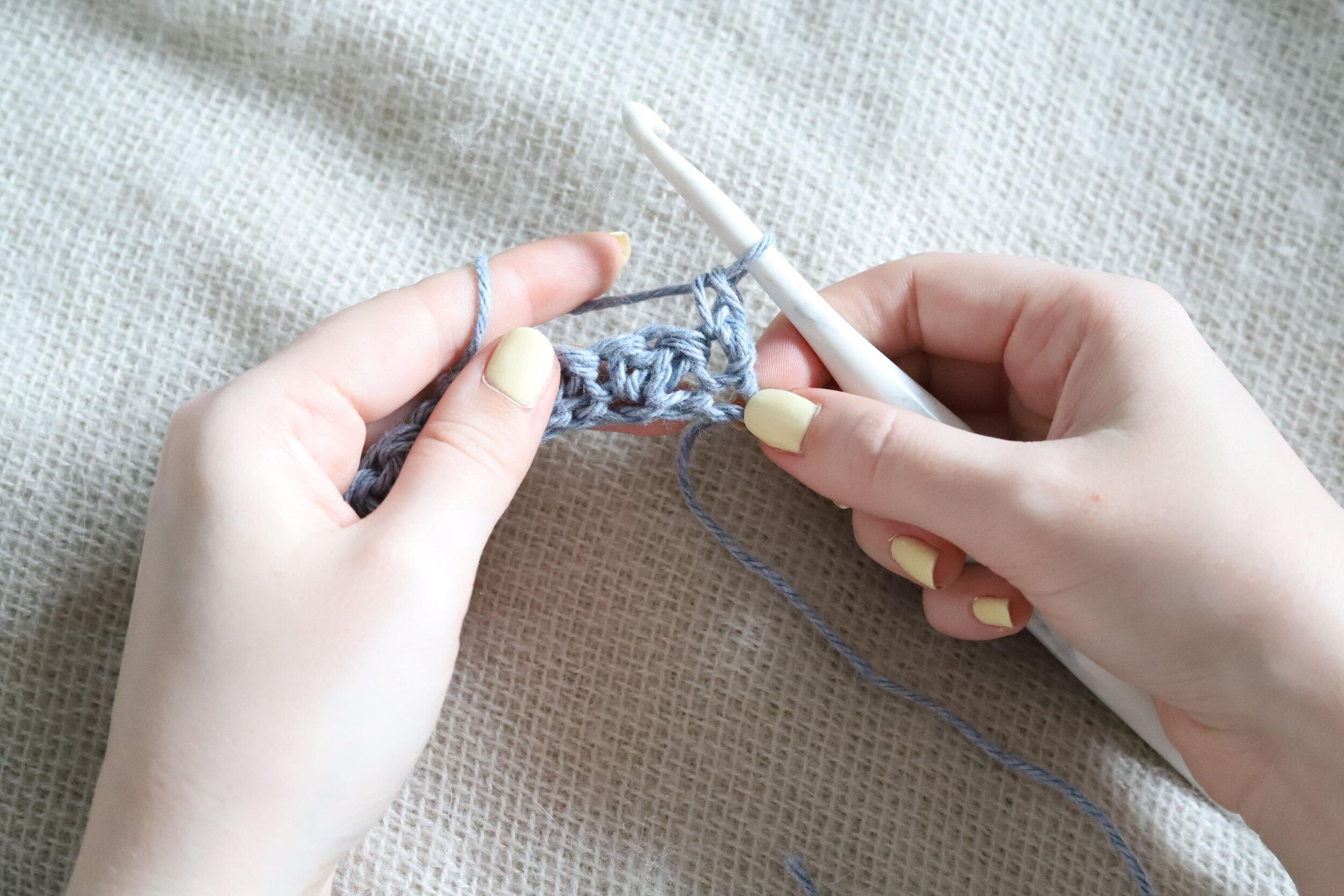 Suzette Stitch Crochet Tutorial Step 2i