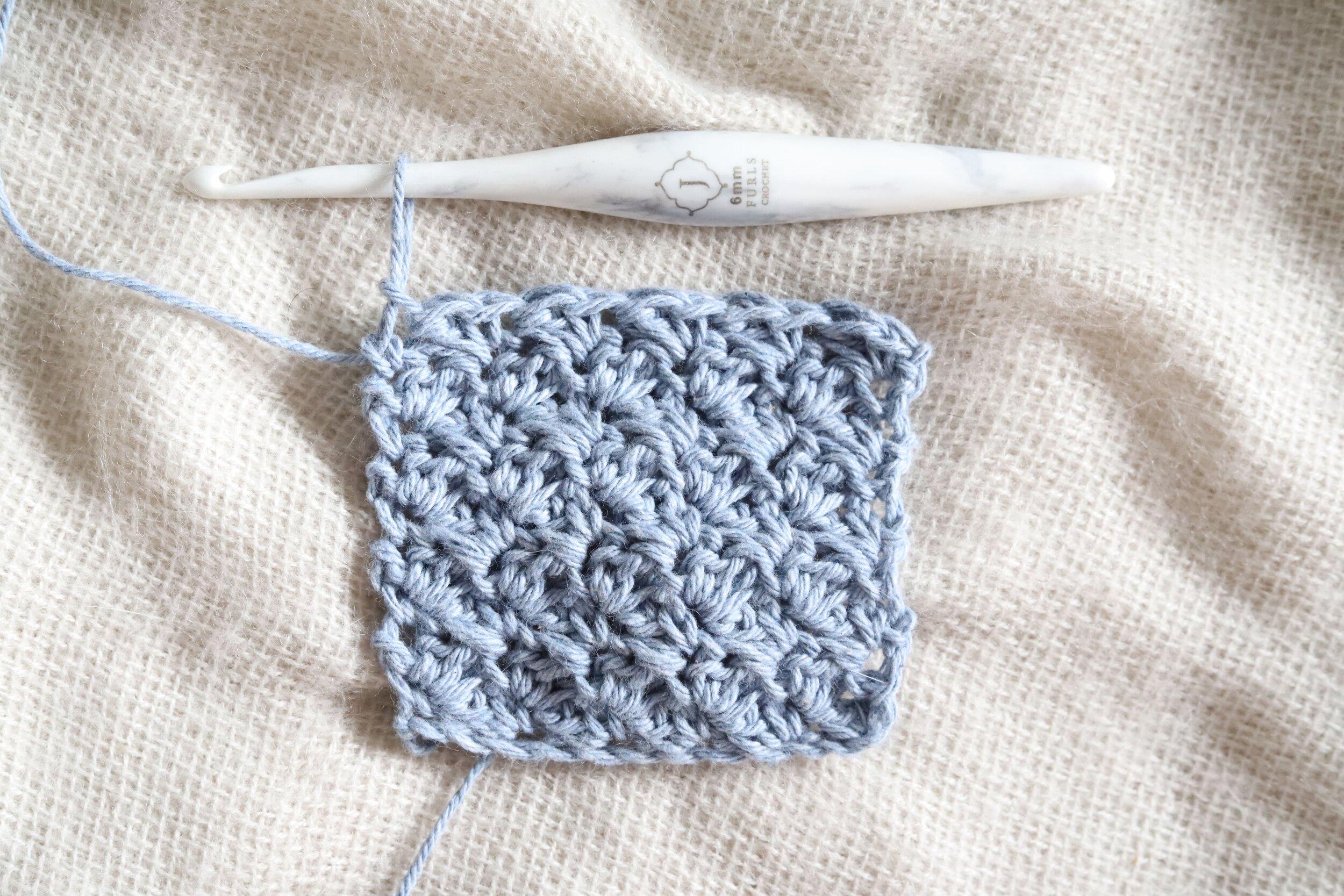 Suzette Stitch Crochet Tutorial Step 2k