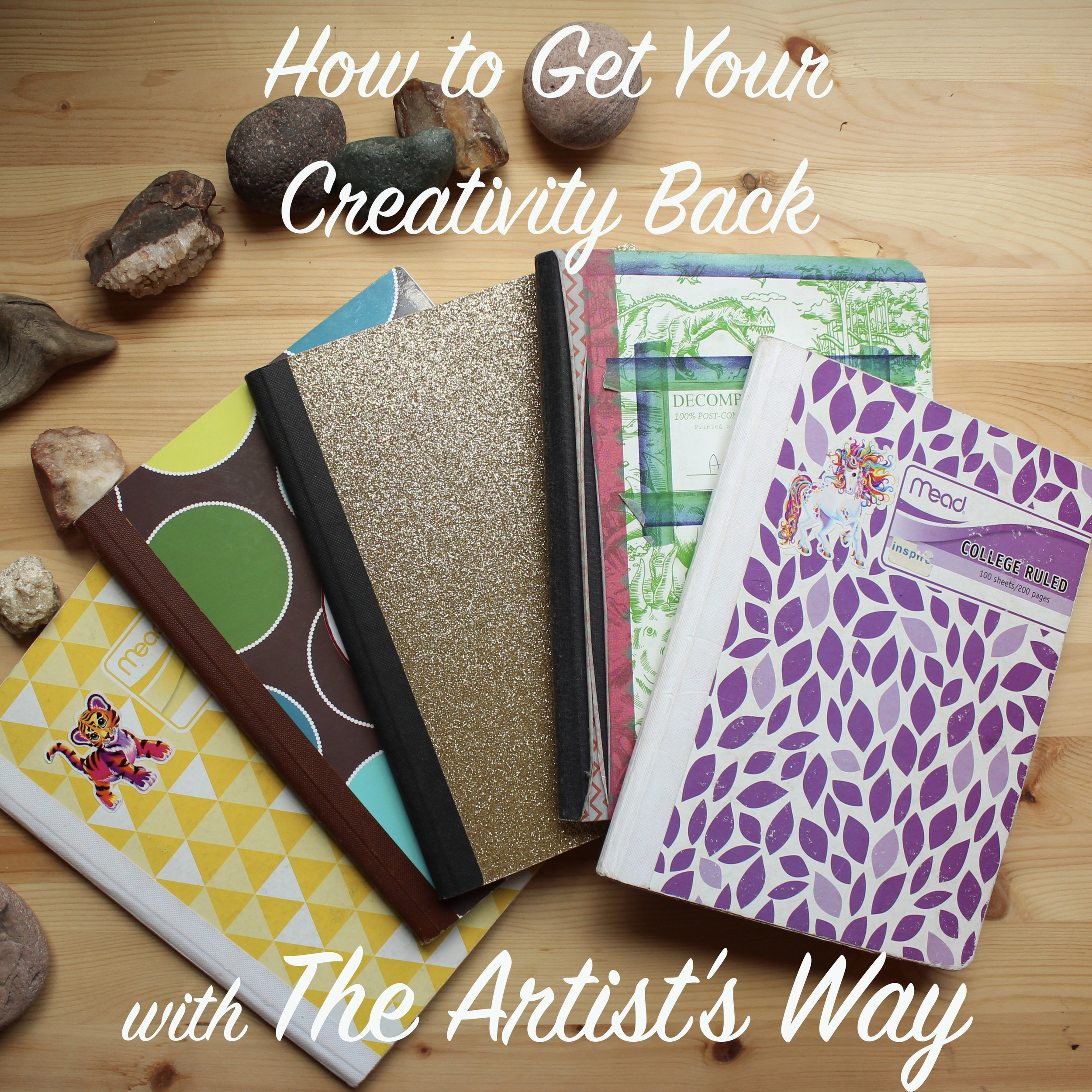 """The creative recovery process includes """"Morning Pages,"""" a form of journaling specific to The Artist's Way."""