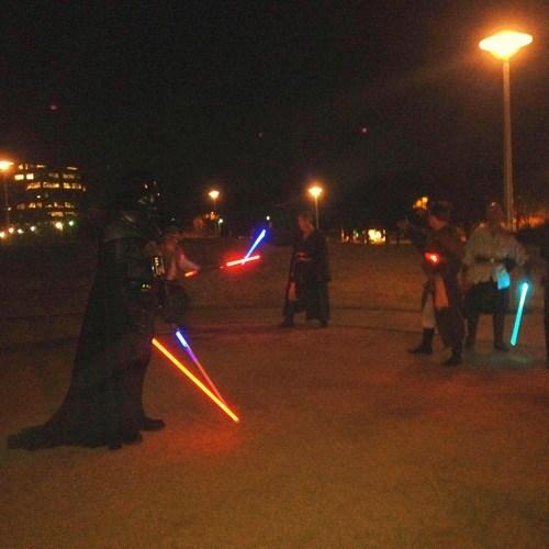 Dance Walk Darth Vader