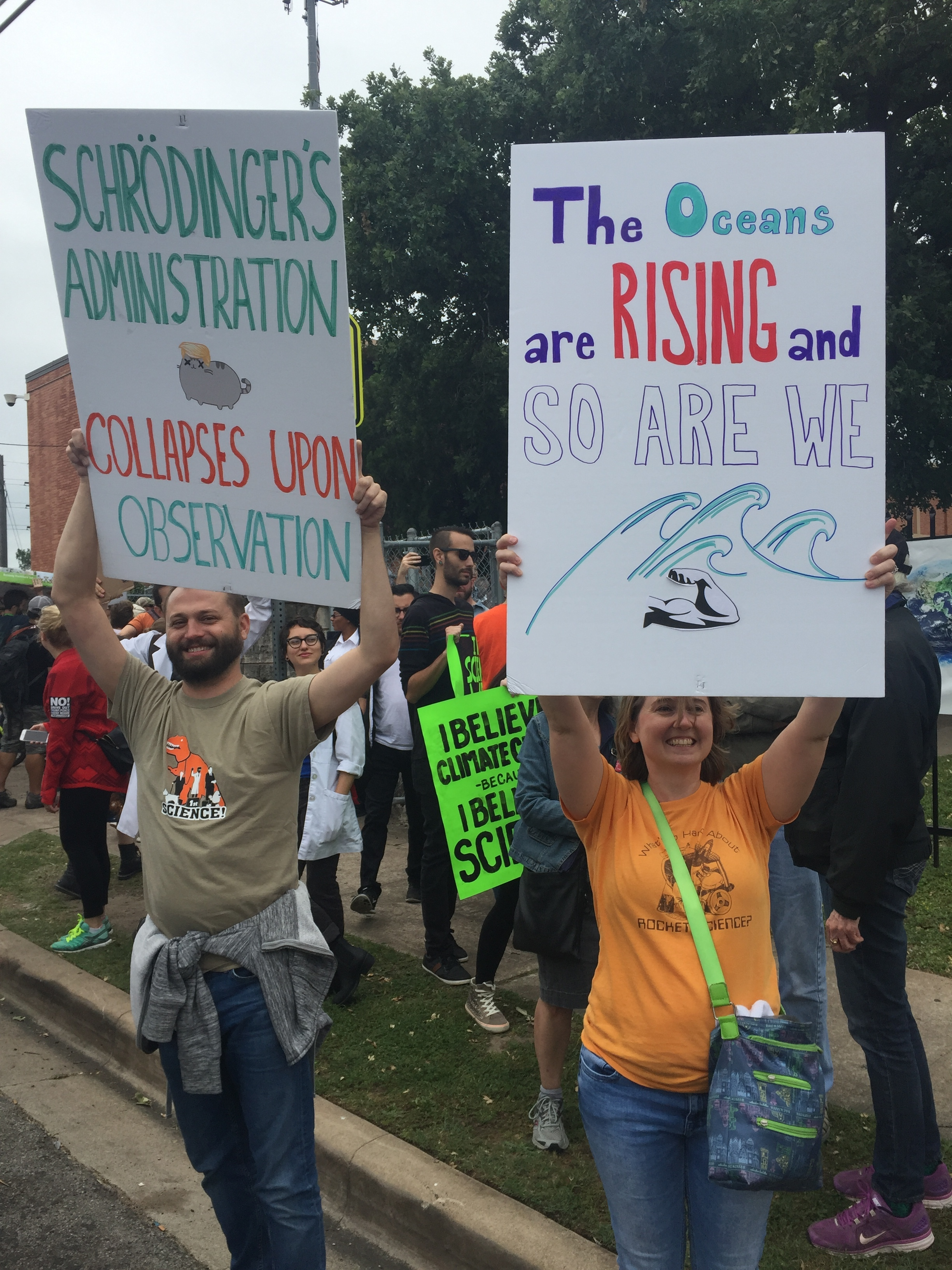 March for Science ATX