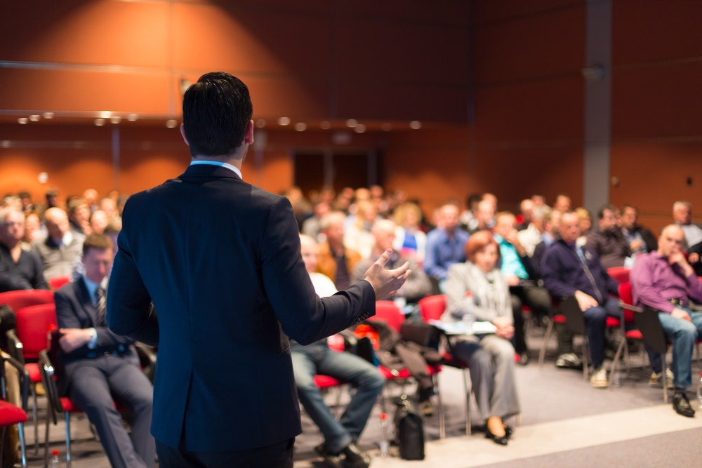 Let us help you find and organize the best speakers for your next conference! The right event planners have connections in the community to create a unique space for your brand to shine. (Speaker Engagement for Marketing, 2016)