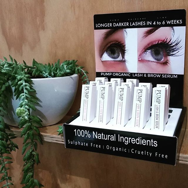 We have been Pumped here at Beautea! Stoked to have this beautiful new product on the shelf.  An all natural, once a day lash & brow growth serum that won't break the bank! A great addition for those doing lash lifts & a perfect treatment to help repair lashes after extentions. Come check it out! #pumphaircare #longlashes #healthylashes #allnatural #lashtreatment #lashandbrow