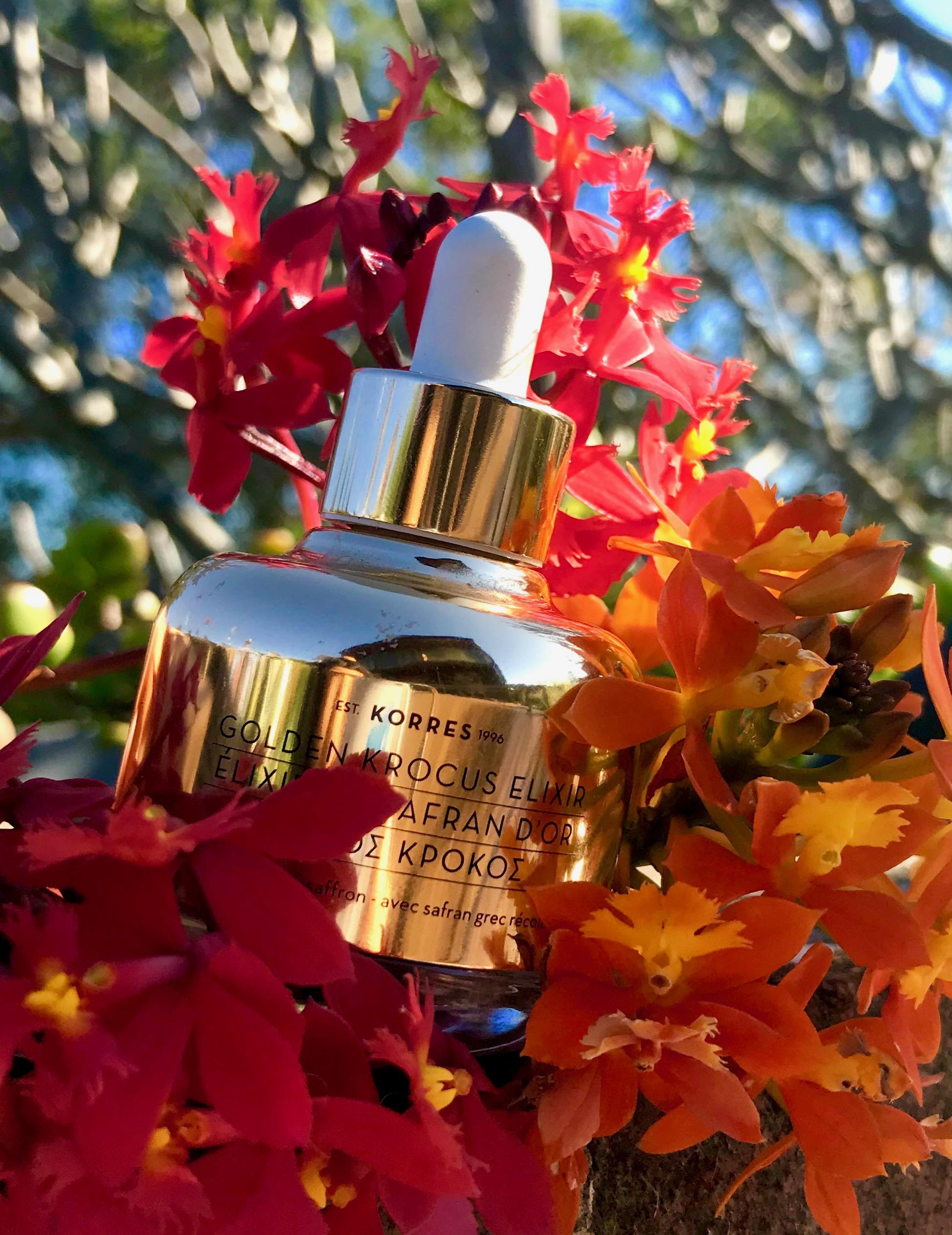 Kim K Pham Product Review Korres Golden Krocus Ageless Elixr Serum