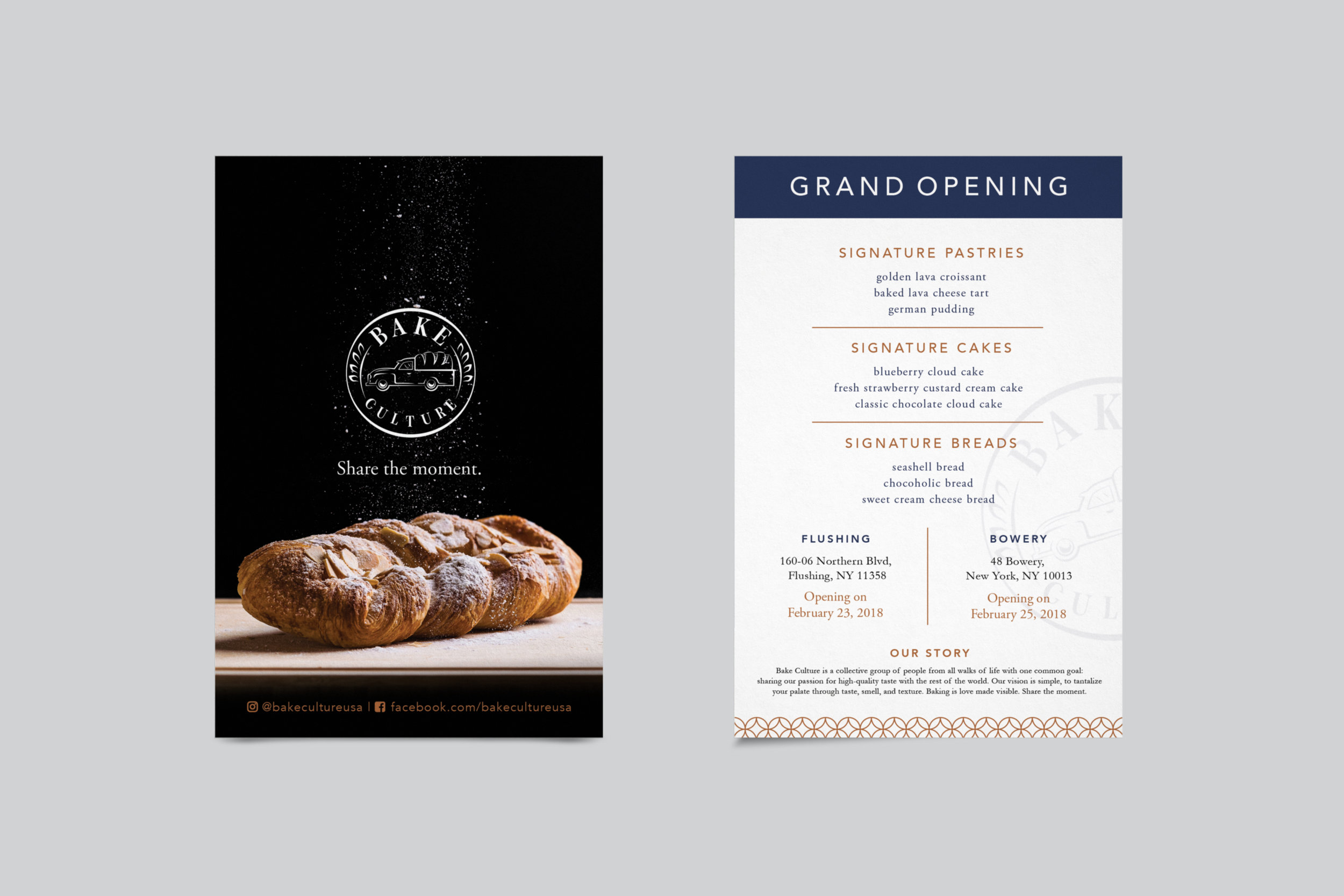 Bakery Identity Design | Simply Joy Studio | Freelance Graphic Design | Logos, Branding, Print, Web, Social Media