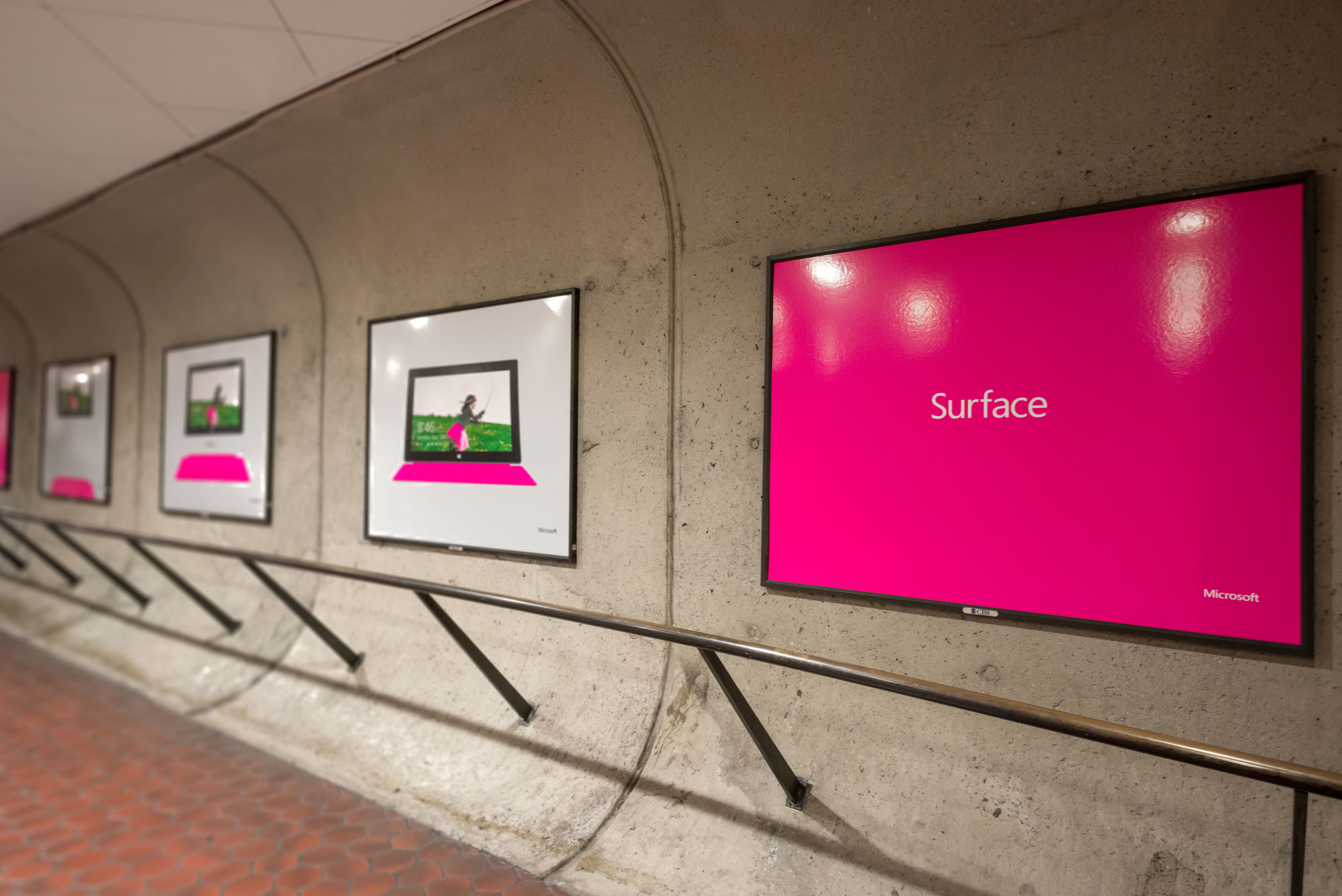 outdoor ads for consumer product launch