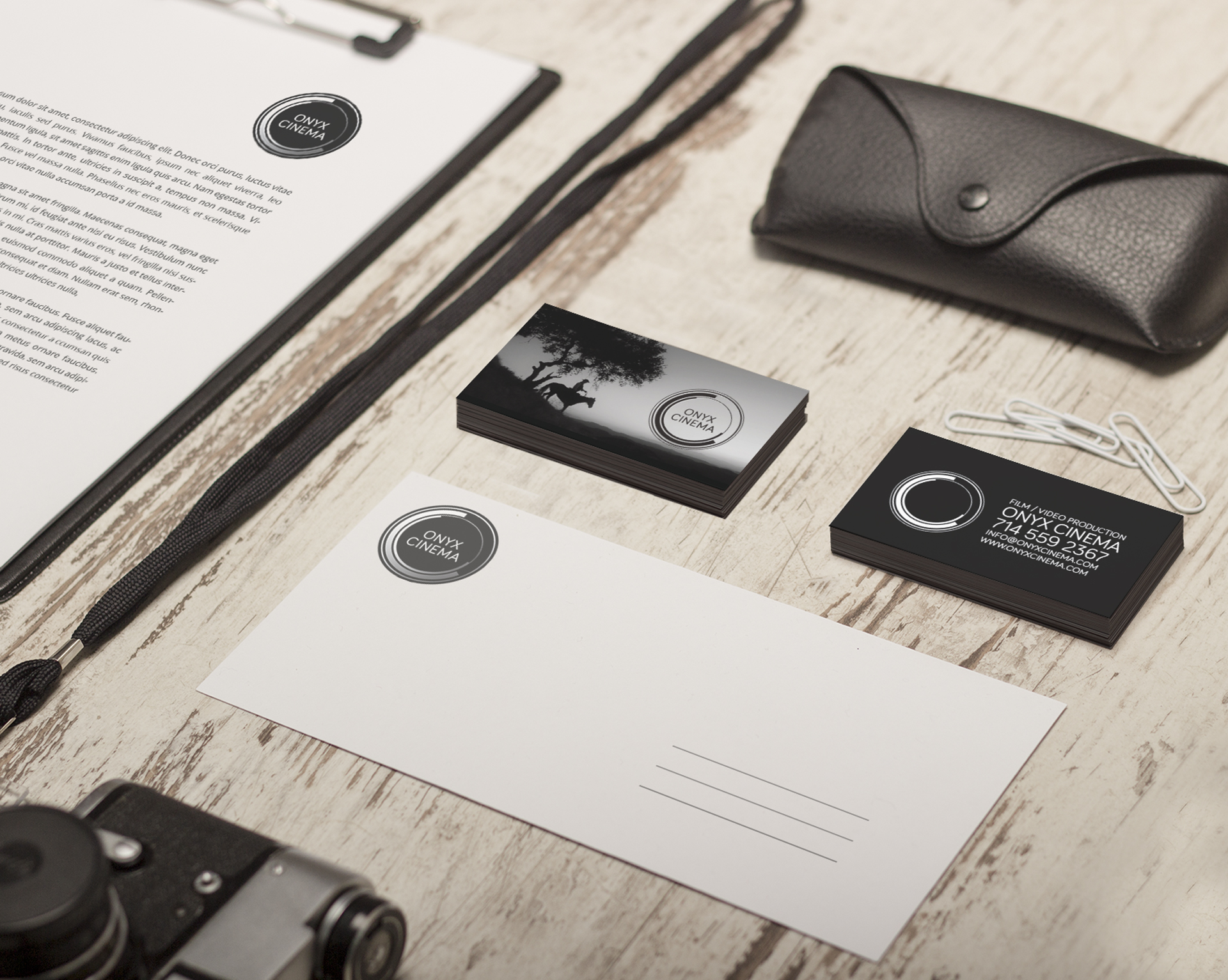 Onyx Cinema - BRANDING, PRINT, DIGITAL