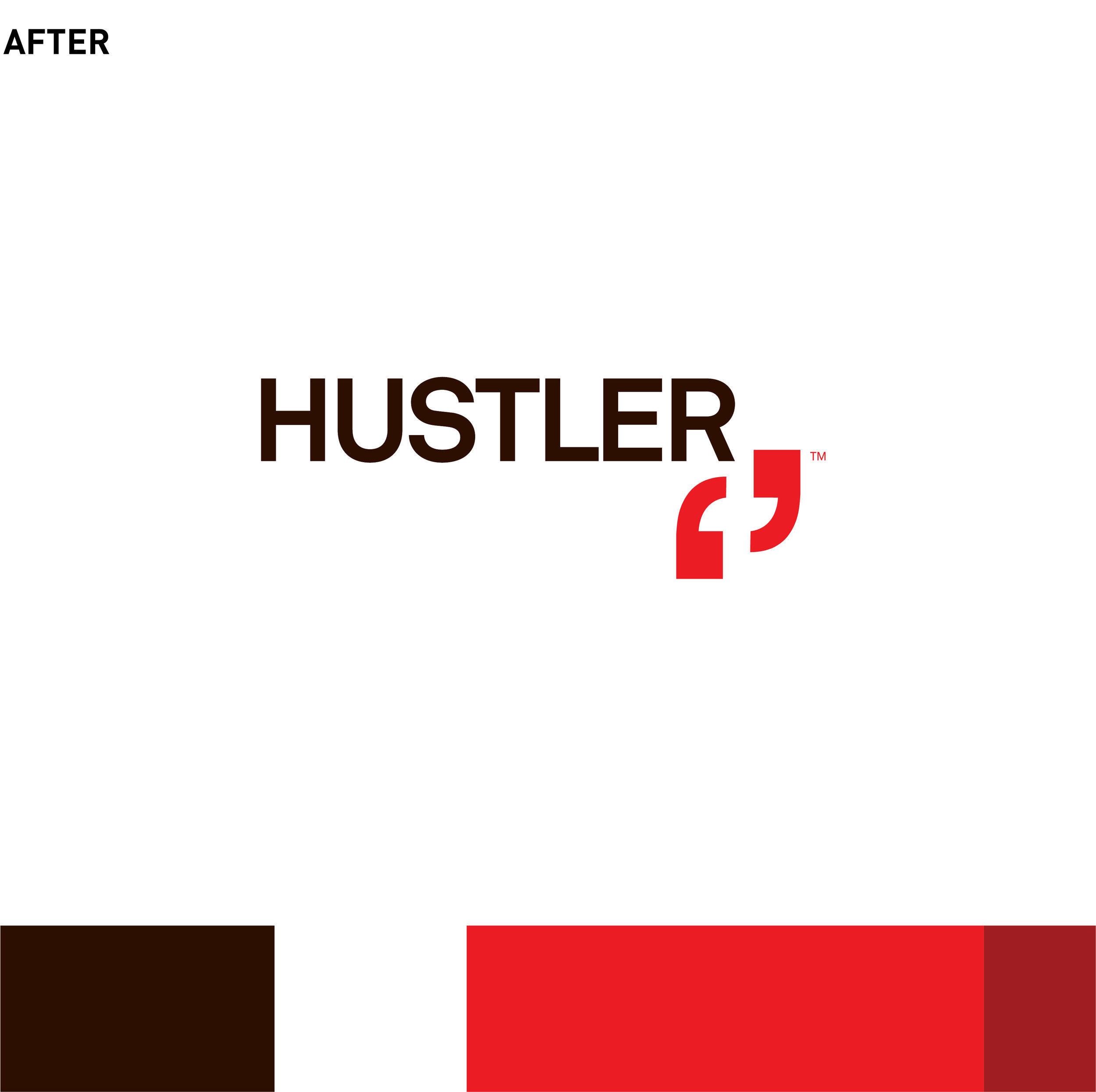HUSTLER | logo, packaging, identity, brand design | luxury sex and personal products