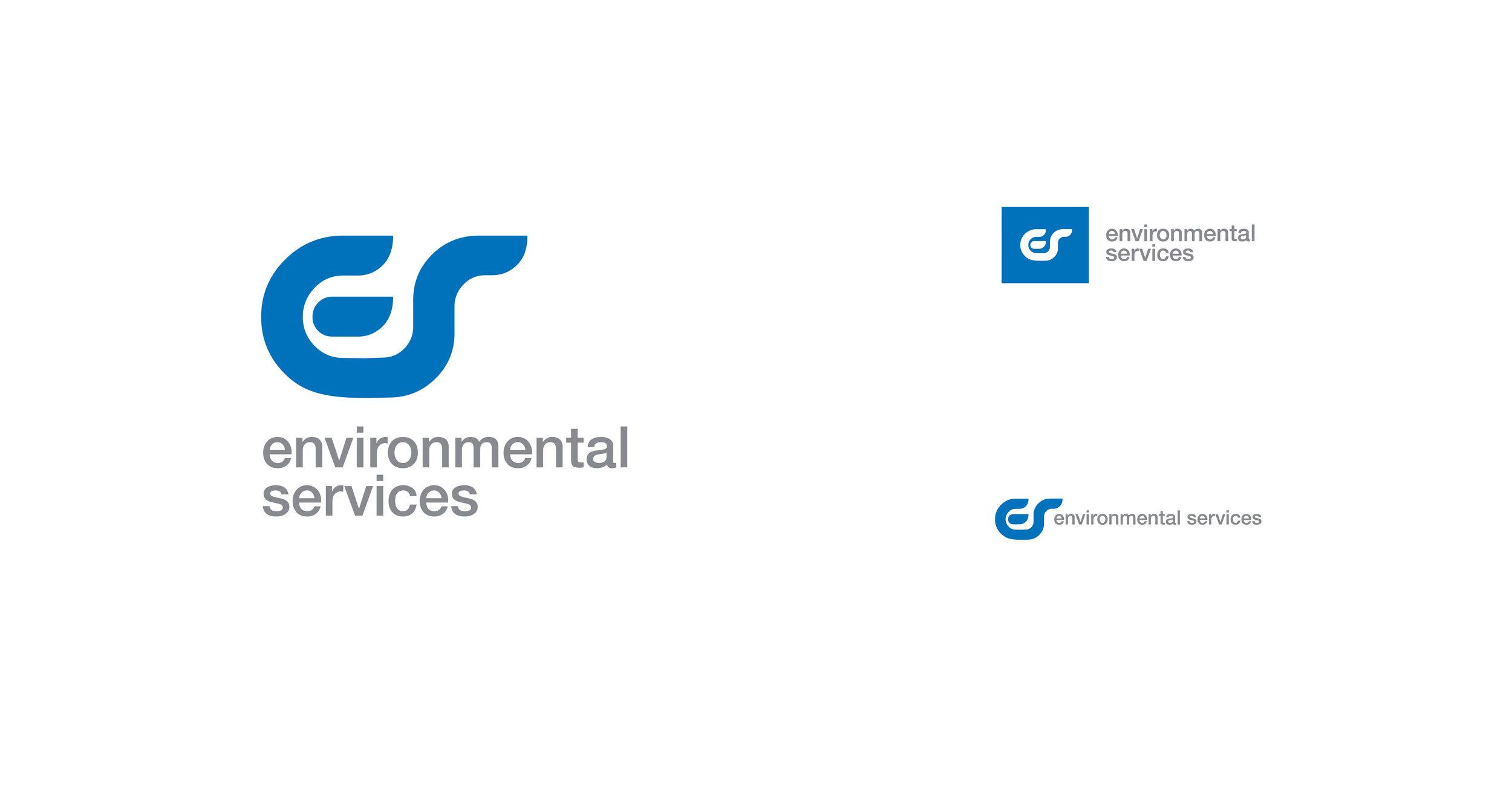 LOGO DESIGN | environmental services green company | modern branding