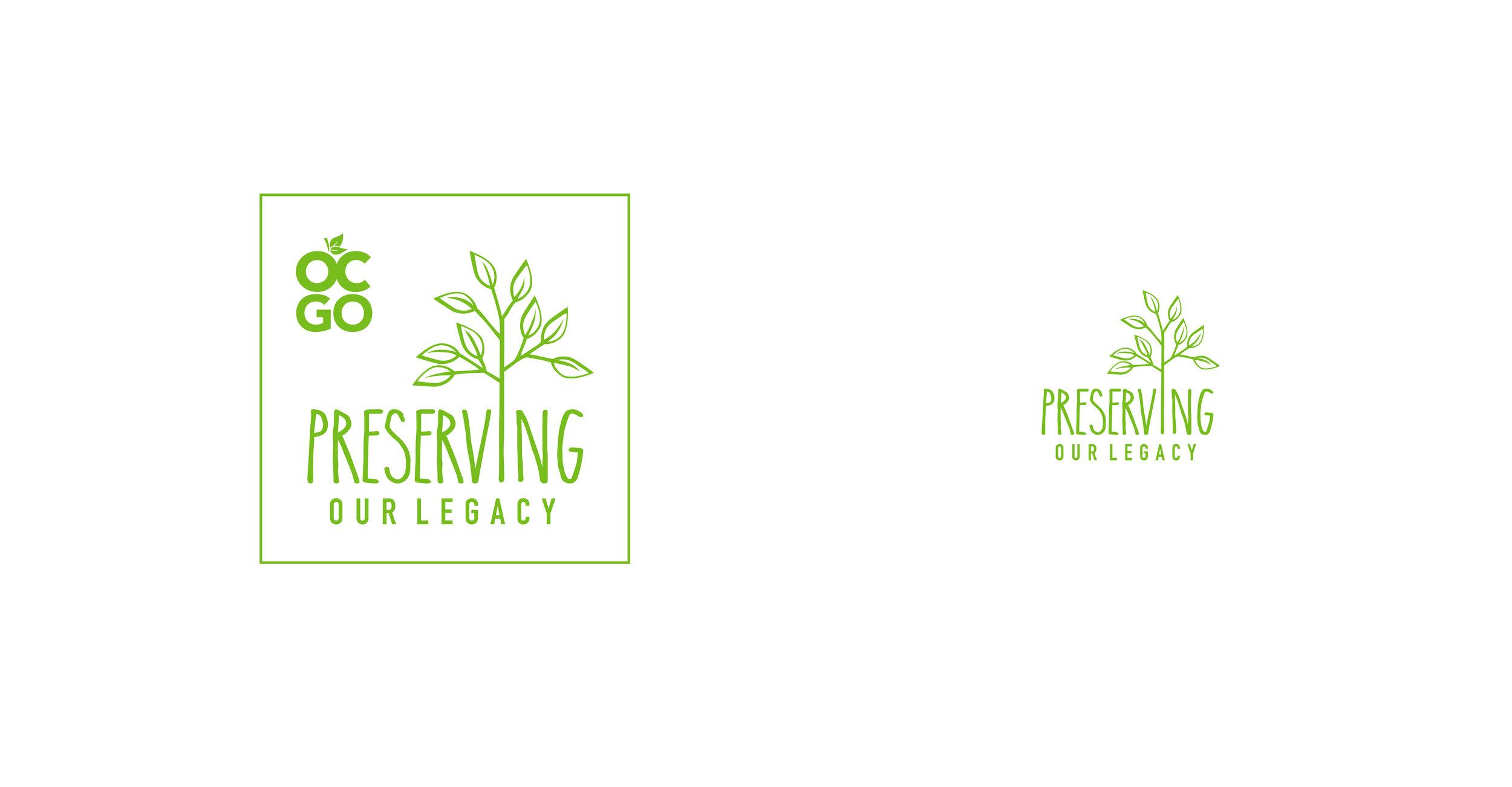 LOGO DESIGN | county nature preservation | green branding