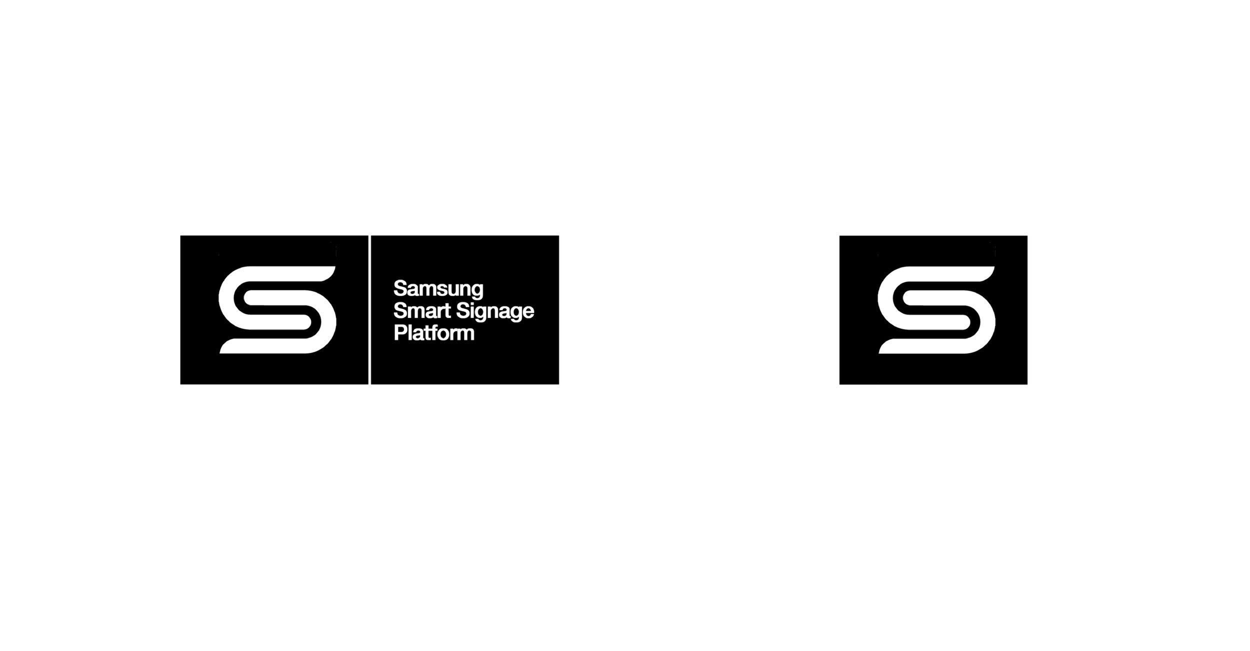 LOGO DESIGN | global consumer products Samsung | simple unique branding