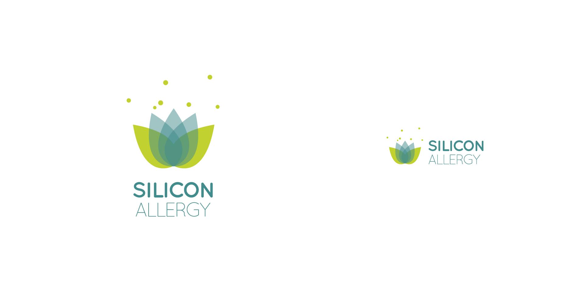 LOGO DESIGN | allergy medical clinic | modern healthcare branding
