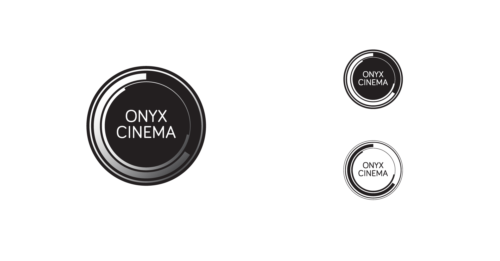 LOGO DESIGN | commercial cinematography company | sleek artistic branding