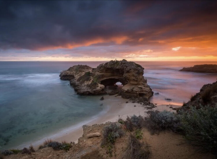 sunset mornington peninsula