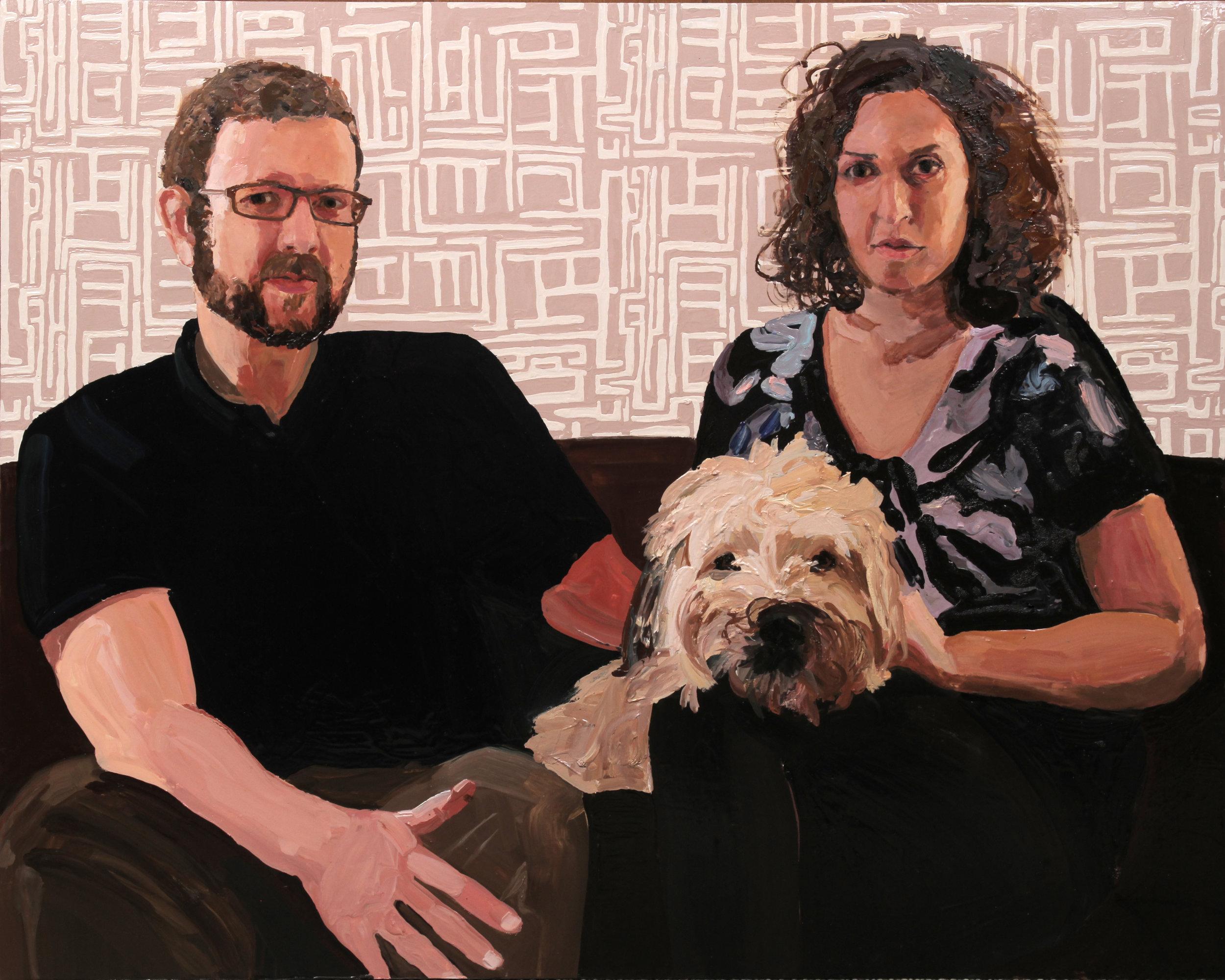 Julia, Rudy, and Matt