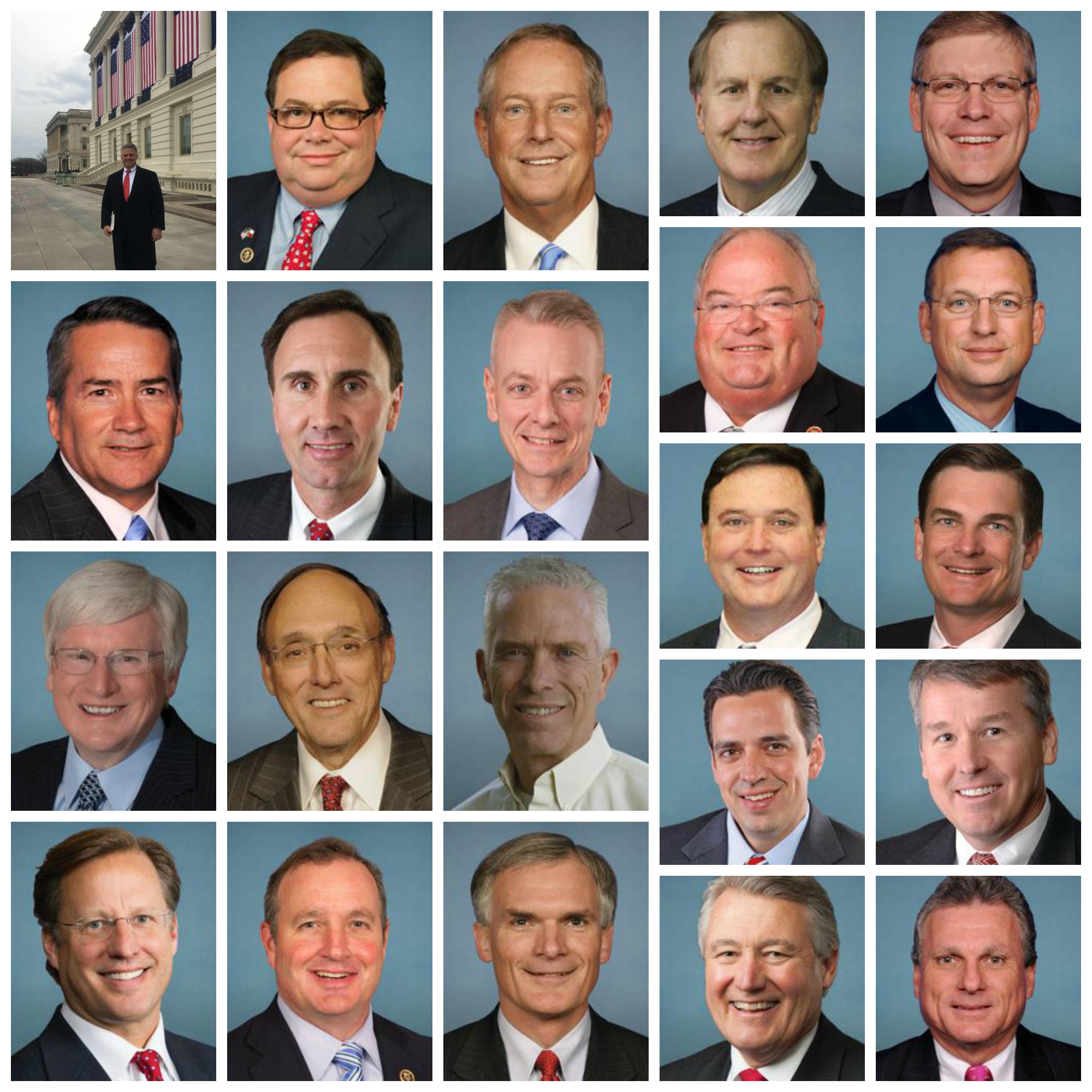 These are the Representatives sponsoring the bill. Notice what they have in common?