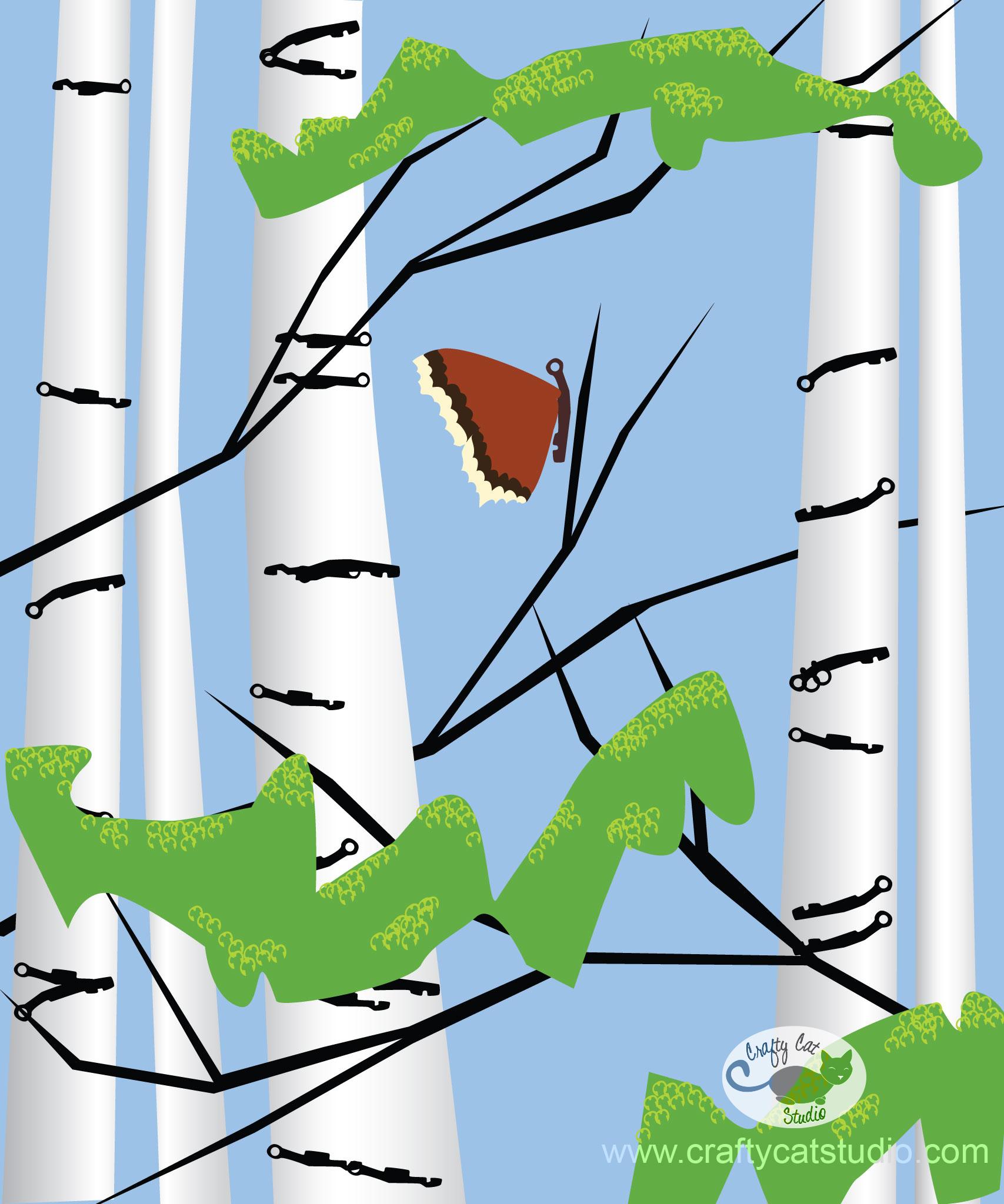 Birch Tree Quilt