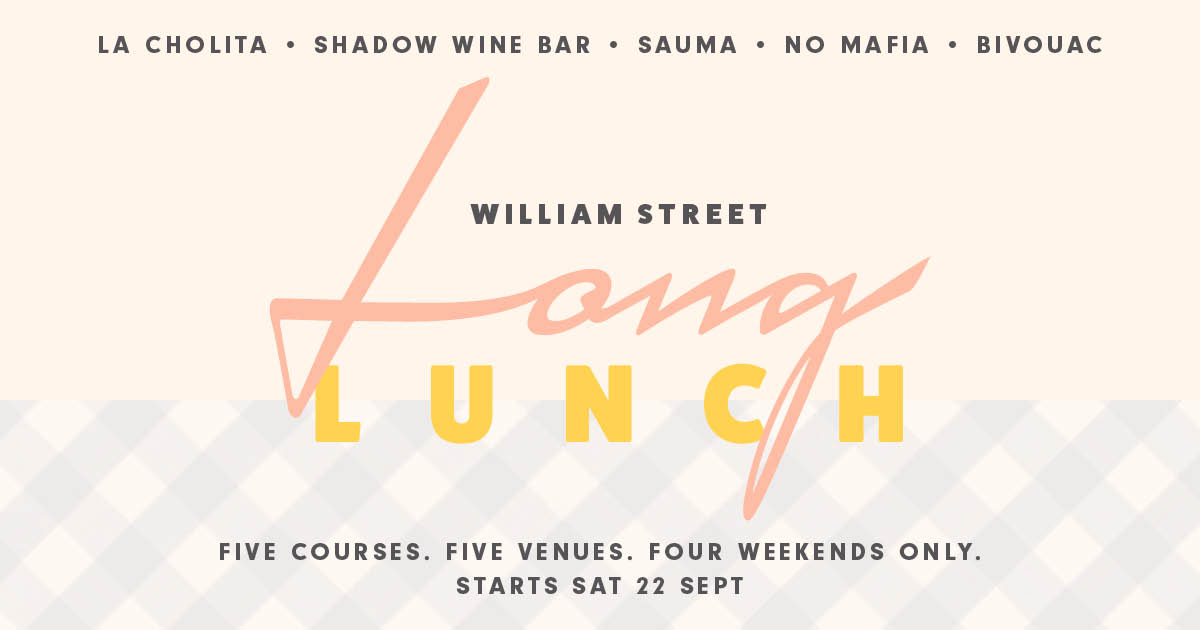 William Street Long Lunch