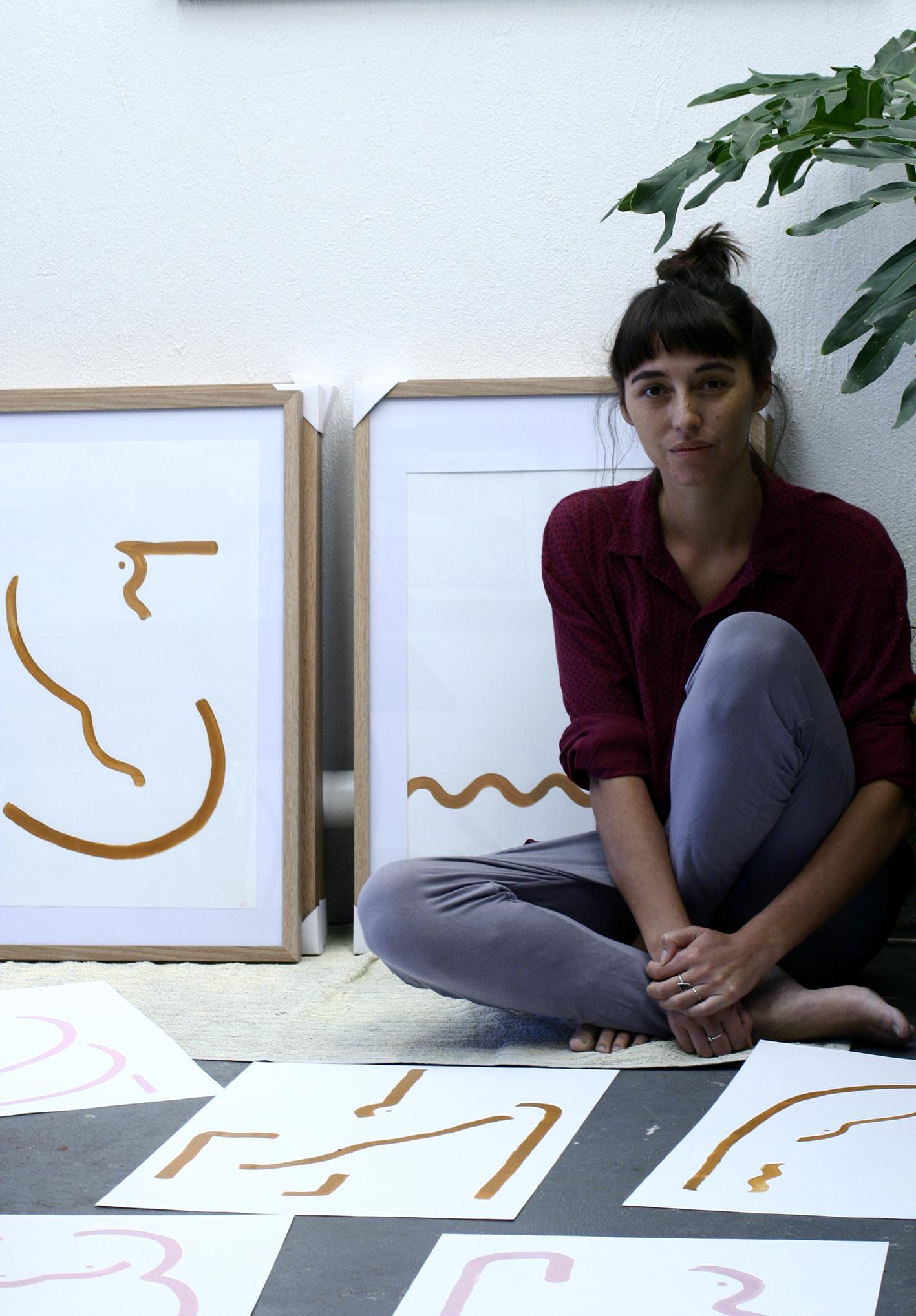 Sarana w line paintings.jpg