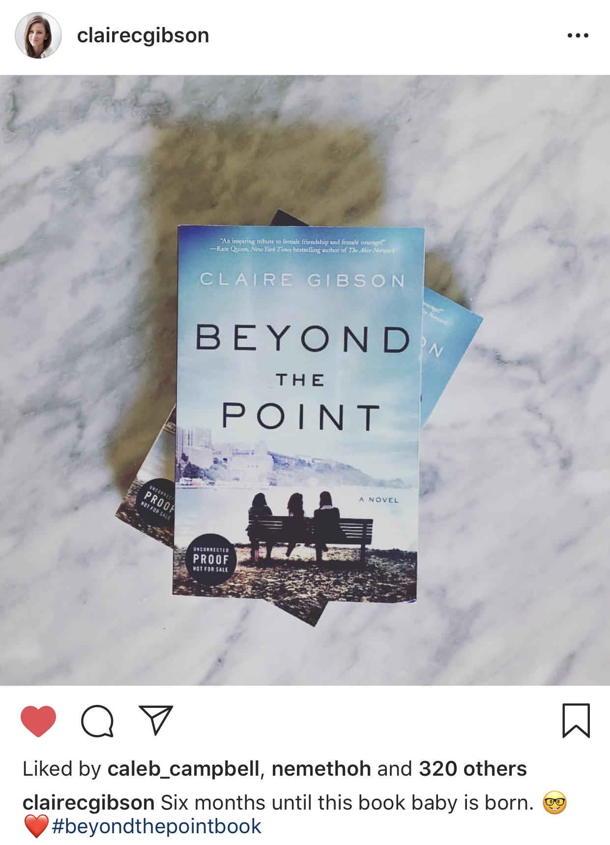 PRE-ORDER NOW -  https://www.harpercollins.com/9780062853745/beyond-the-point/