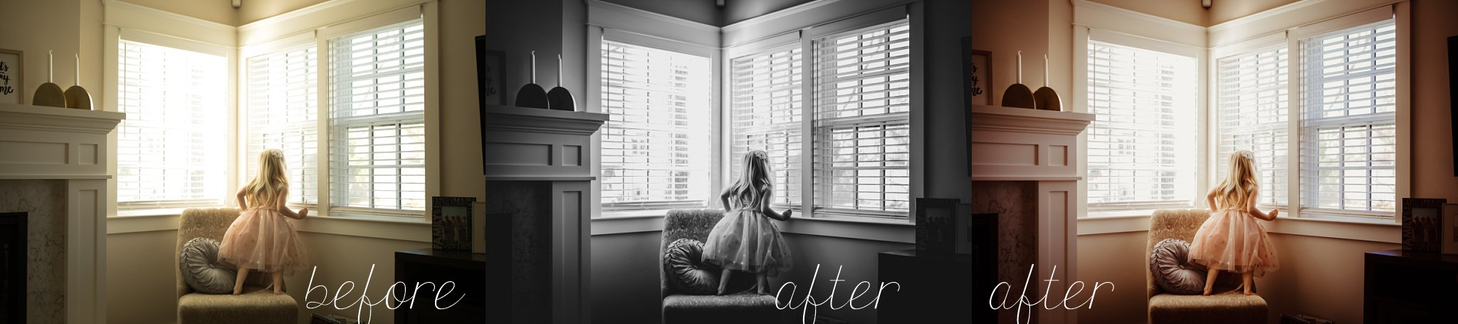 Little girl in dress at window Becci Ravera Photography Family Newborn Photograper