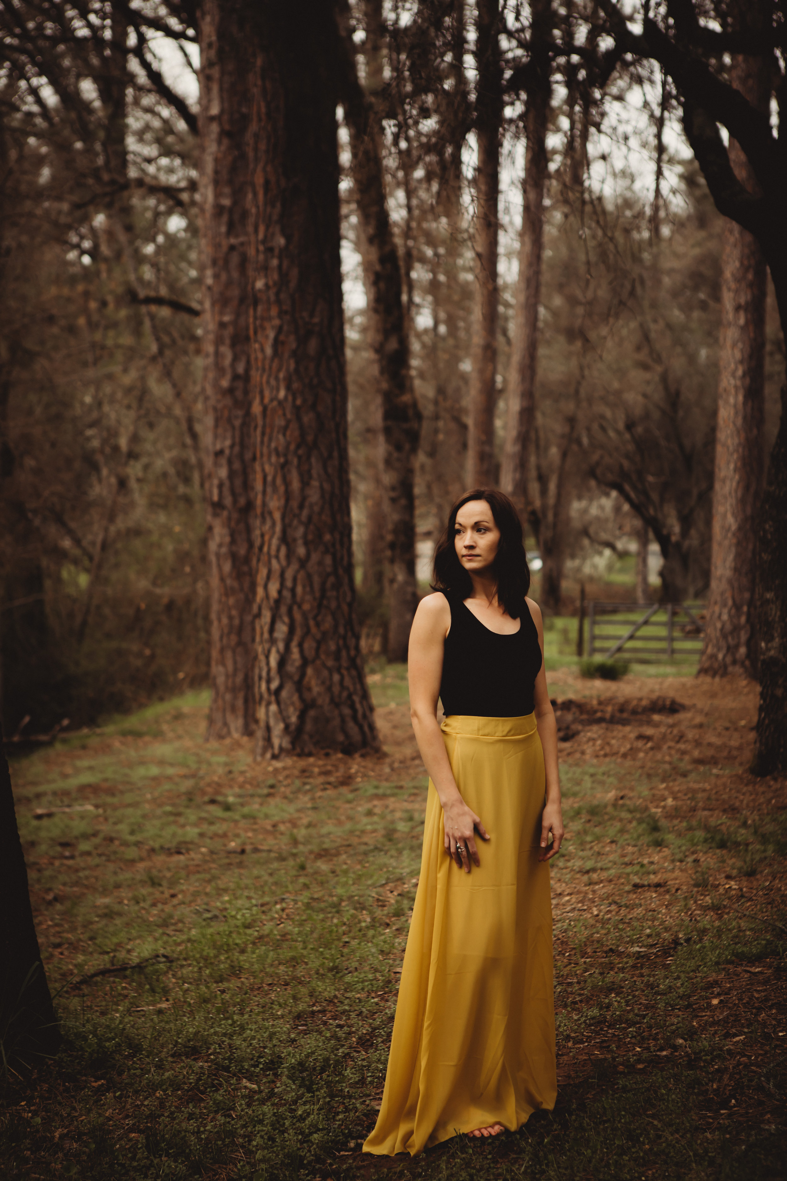 Juniper Skirt in Yellow    Size 8 fits like a Medium