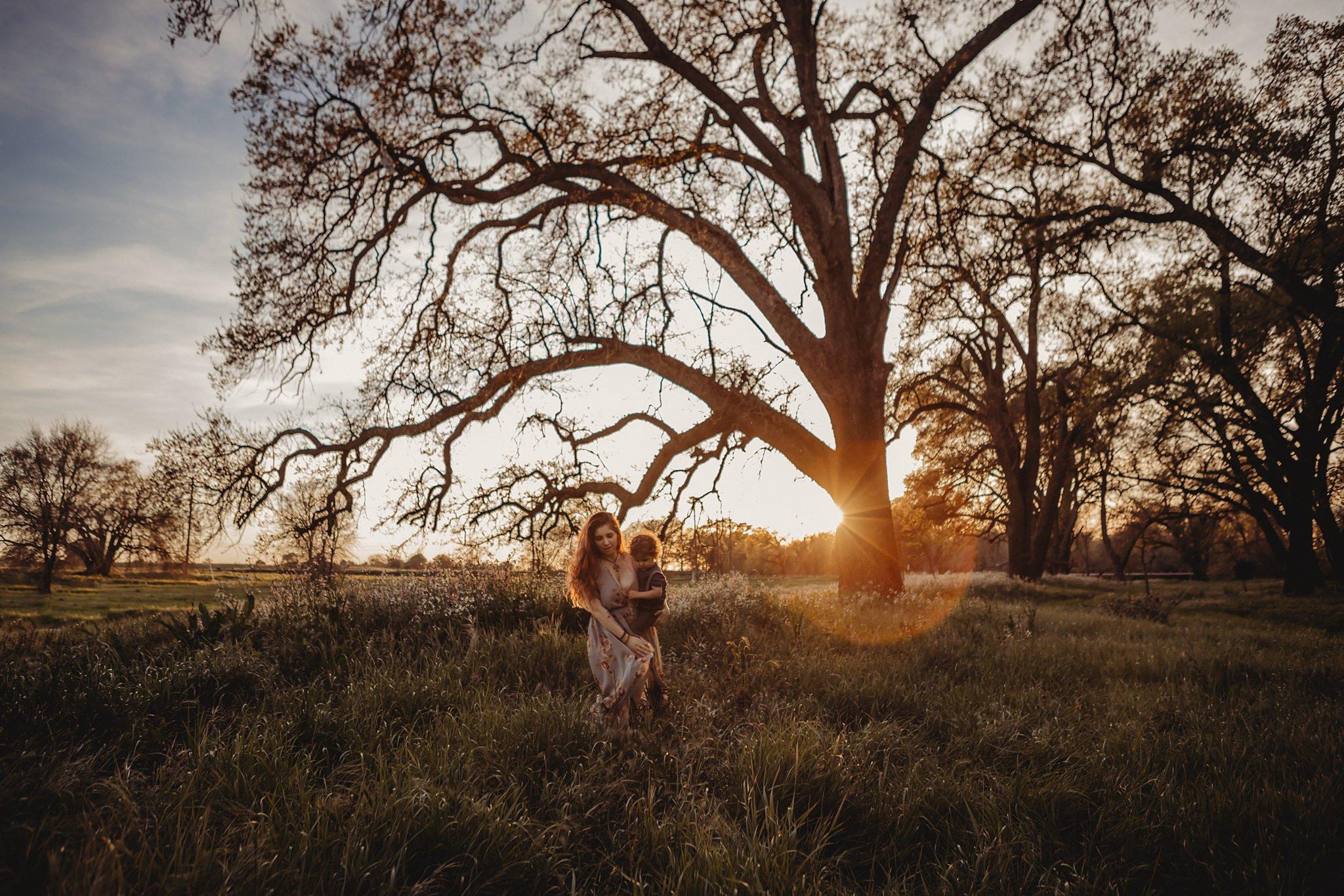 Mama and son in a field Becci Ravera Photography Family Newborn Photograper_0195.jpg