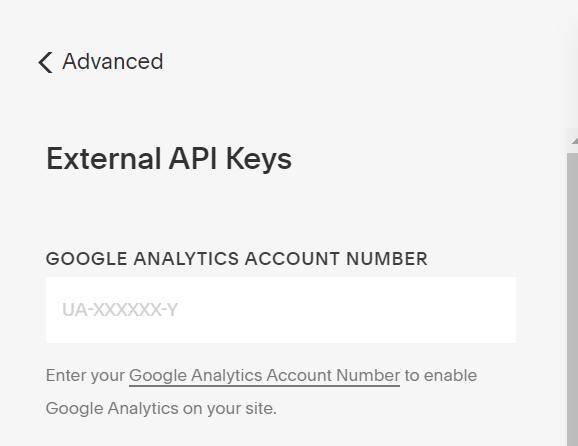 External API Keys Google Analytics Squarespace.png