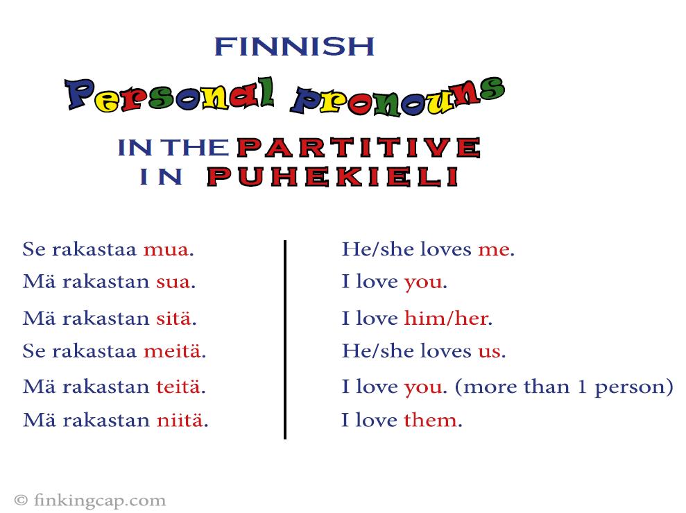 personal_pronouns_partitive_puhekieli