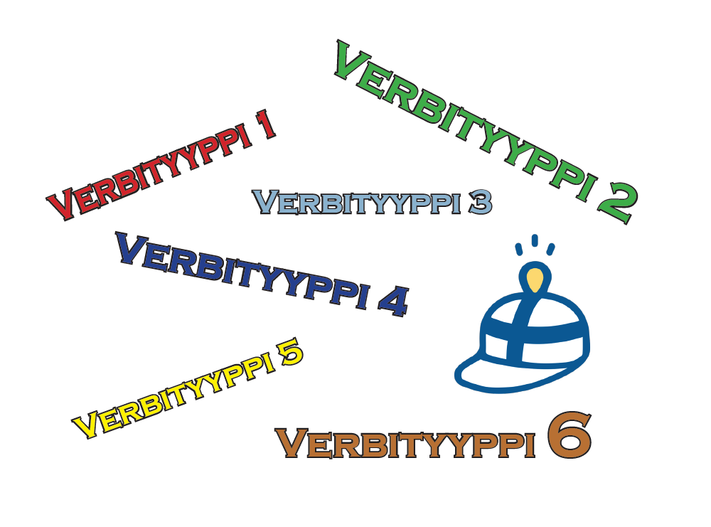 Finnish verb types are useful and important to learn. How many verb types are there? Six.