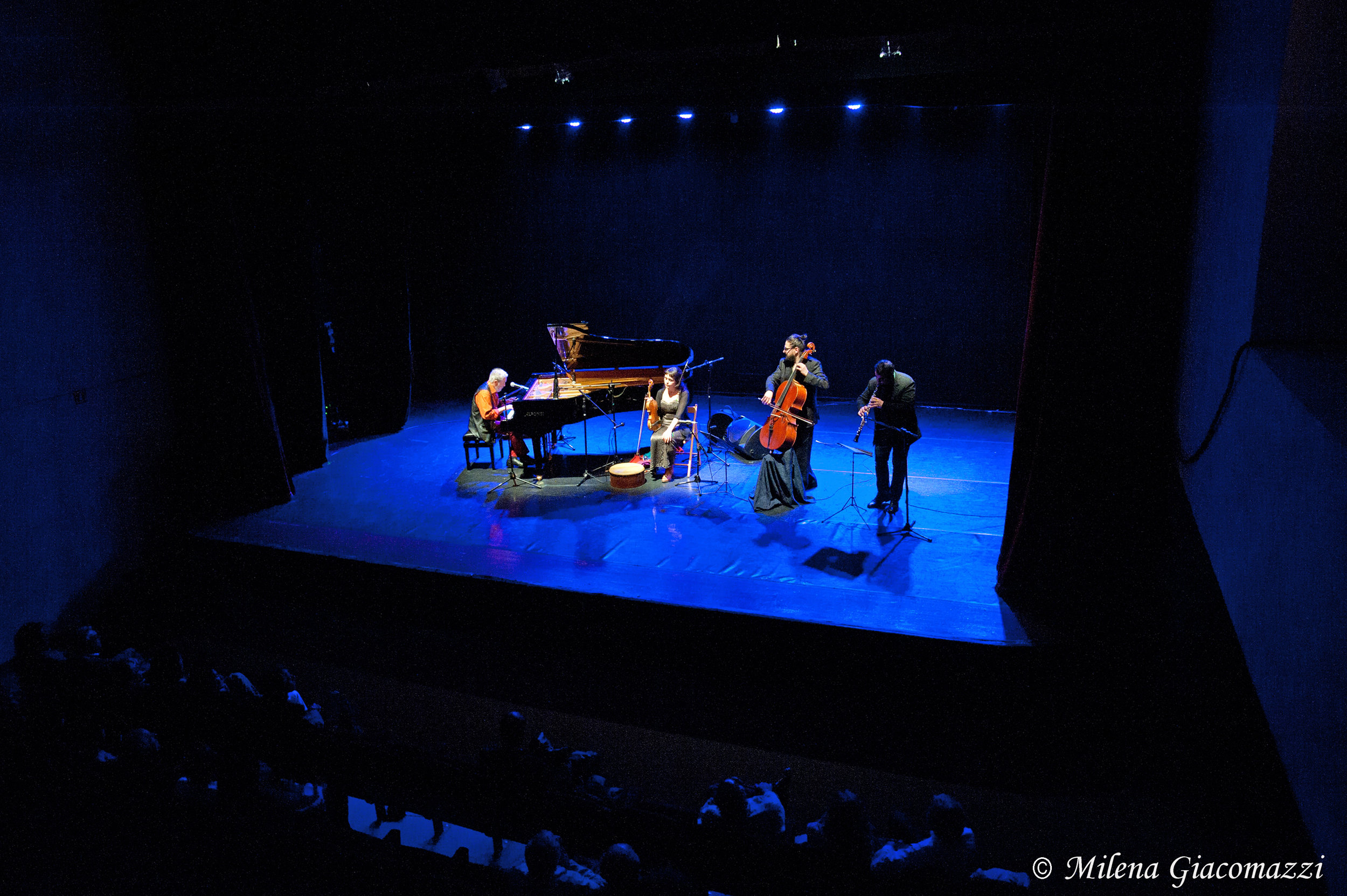 The Nomadic Piano quartet, Rome, 2015