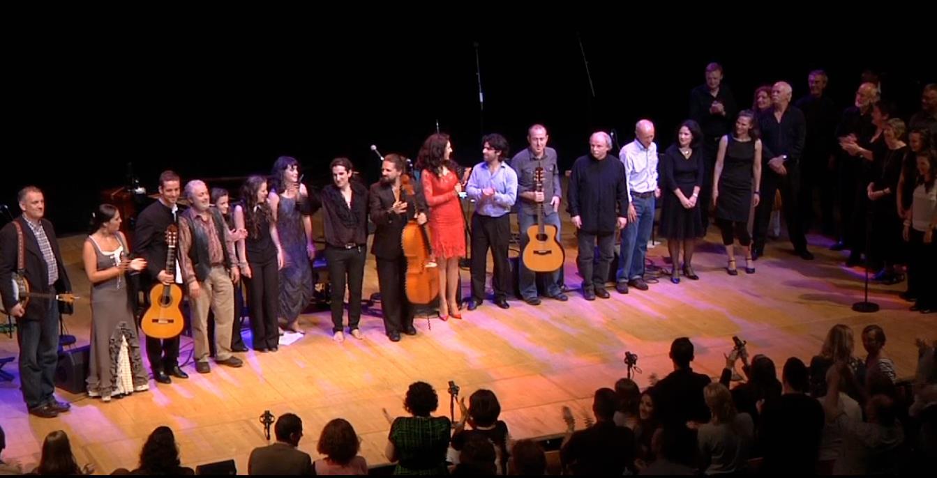 Antoni O' Breskey and The Nomadic Piano Ensemble at National Concert Hall, 2012