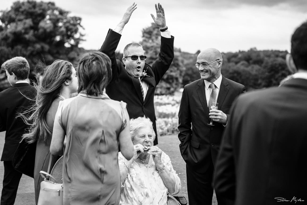 wollaton hall wedding guests