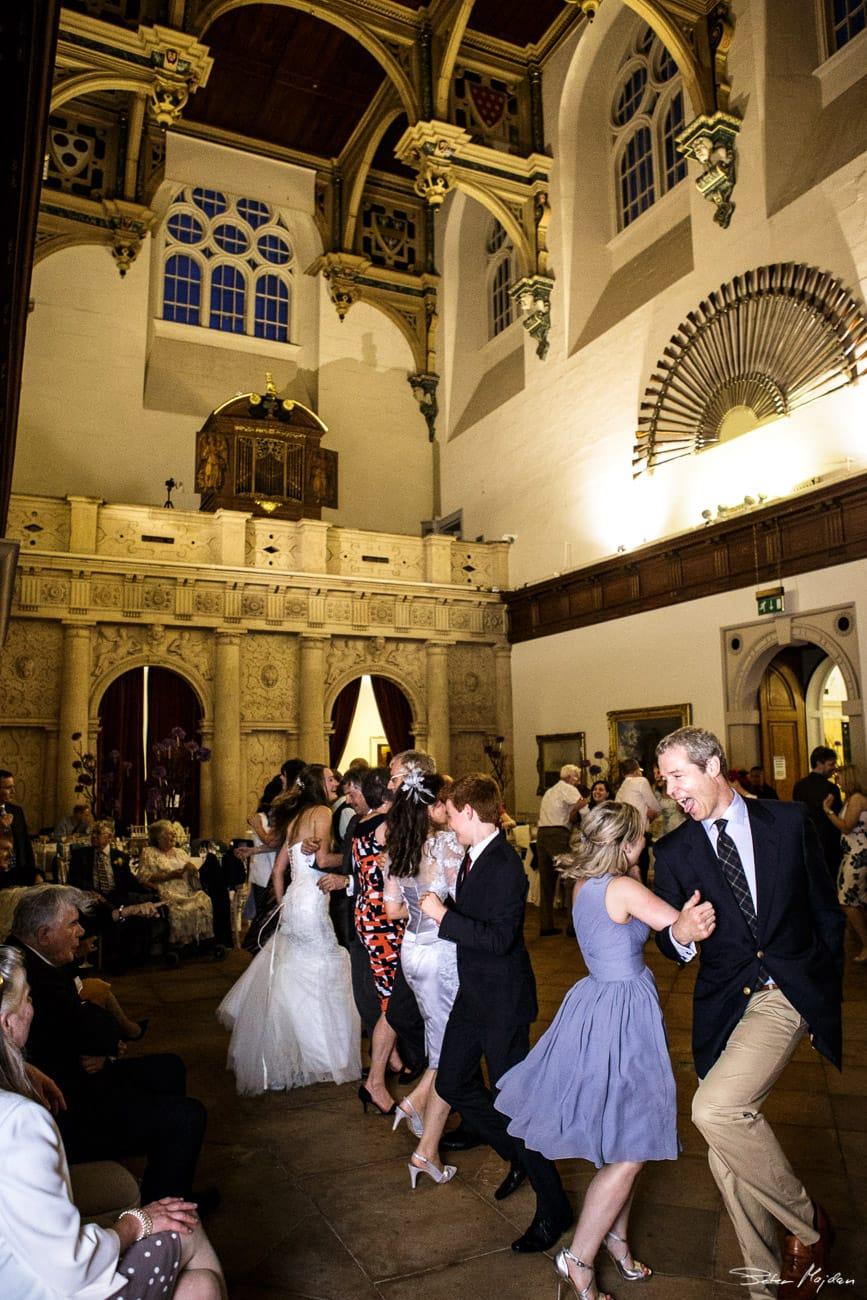 guests dancing