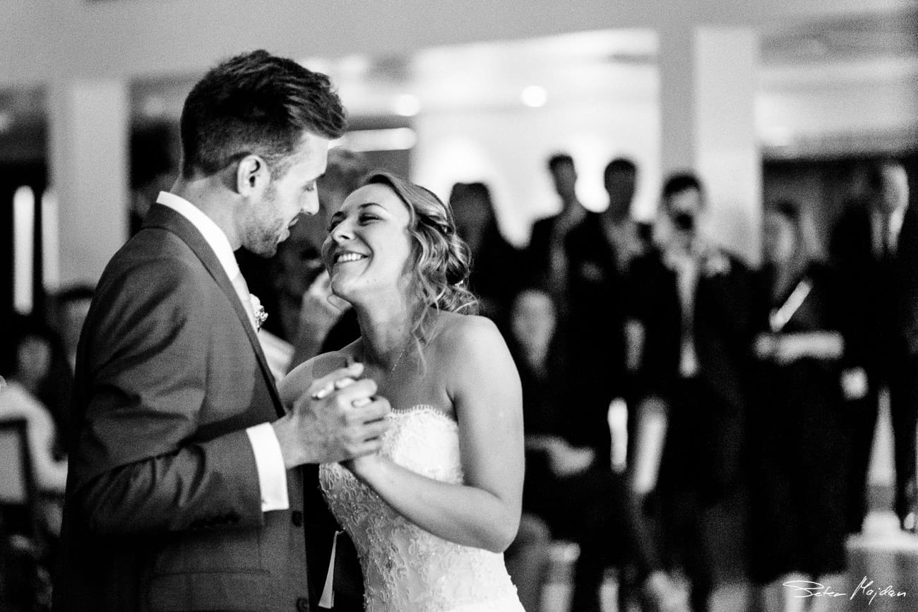 emotional first dance at mythe barn
