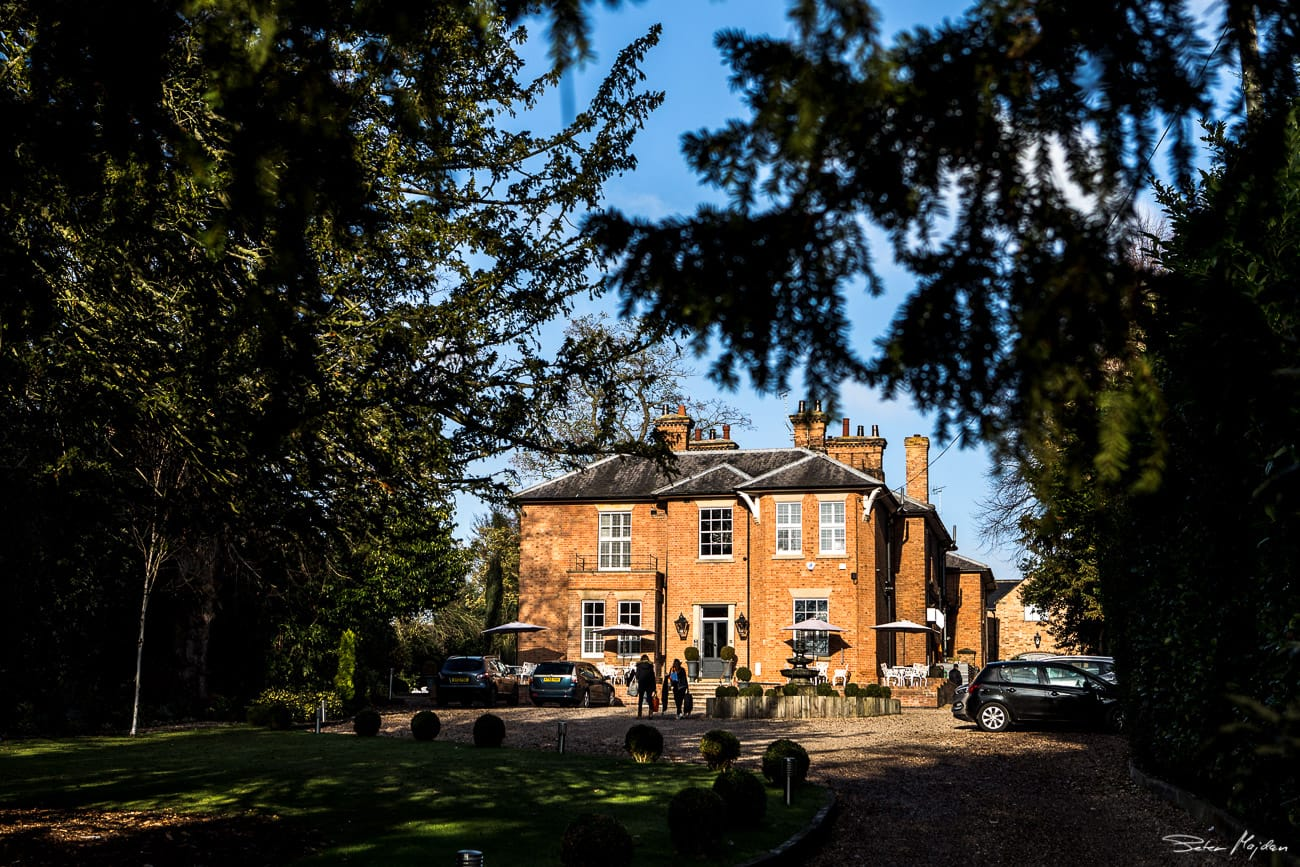 photo of Old Vicarage from outside