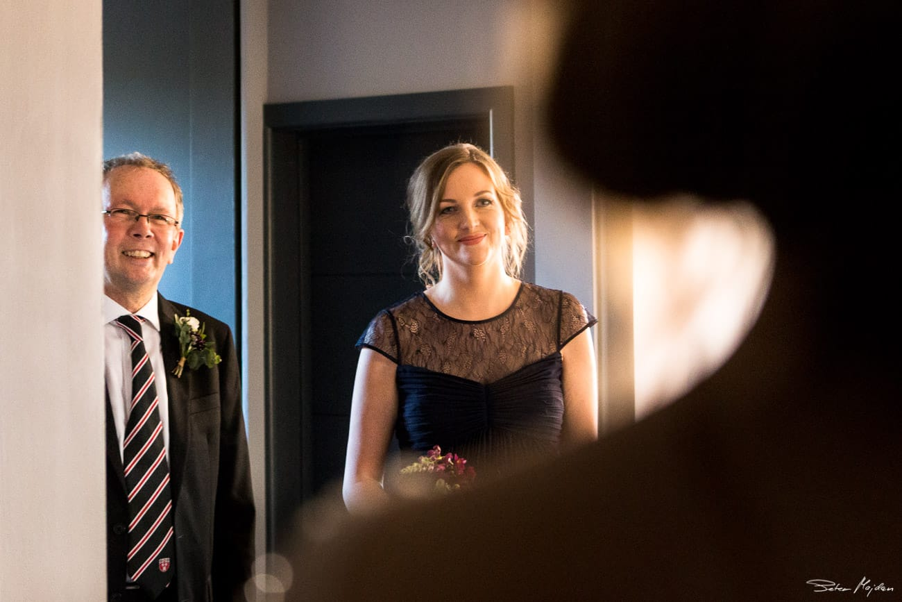 brides sister and her father