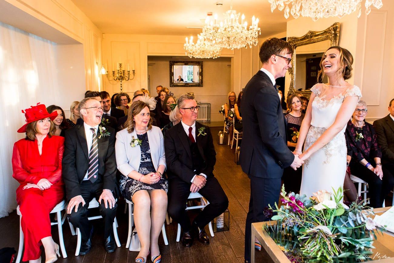 old vicarage wedding ceremony
